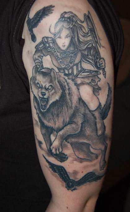 valkyrie tattoo